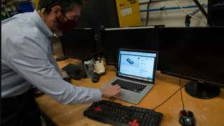 Randy Altschuler says Xometry uses artificial intelligence and algorithms to help manufacturers track down niche parts. Picture: Washington Post/Michael Robinson Chavez