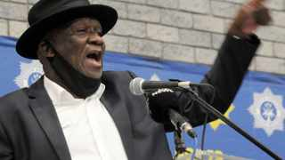 Minister of Police, General Bheki Cele hosted a community Imbizo at the Langa Indoor Sports Complex. The theme of the imbizo was, Enhancing Partnerships with citizens for safer communities. Picture: Tracey Adams/African News Agency (ANA)