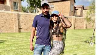 Mapula Khune and her brother, Kaizer Chiefs and Bafana Bafana goalkeeper Itumeleng Khune. The teenager arrested for Mapula's murder has been freed due to lack of evidence. Picture: Instagram