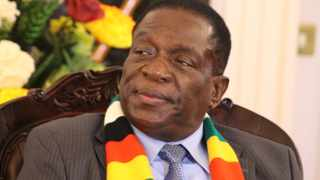 Zimbabwean President Emmerson Mnangagwa. File picture: African News Agency