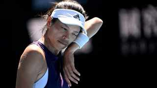 Taiwan's Su-Wei Hsieh will face Naomi Osaka, 12 years her junior, on Rod Laver Arena on Tuesday for a place in the Australian Open semi-finals. Picture: Jaimi Joy/Reuters