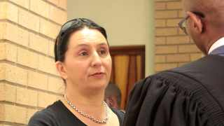 Vicki Momberg, who was caught on camera racially abusing a police officer, has been found guilty of four counts of crimen injuria. Picture: Dimpho Maja/ANA