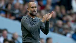 Manchester City boss Pep Guardiola say they are struggling with various injuries.. PIcture: Nigel Roddis/EPA