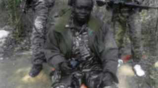 Undated handout photo released on April 5, 2013 by the Central African People's Democratic Front shows their leader Abdoulaye Miskine.