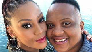 Letoya Makhene and Lebohang Keswa. Picture: Instagram