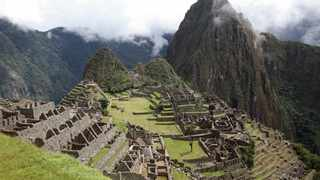 His original plan had been to spend only a few days in Peru to take in Machu Picchu. Picture: AP