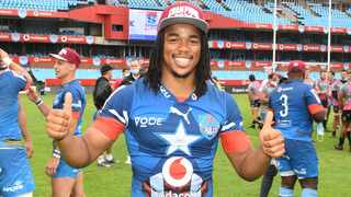 FILE - Stedman Gans has been ruled out of this weekend's Currie Cup final against the Sharks at Loftus. Photo: Lee Warren/Gallo Images via BackpagePix