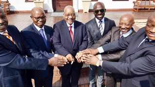 President Jacob Zuma this week met with Finance Minister Malusi Gigaba, Deputy Minister Sifiso Buthelezi, Governor of the SA Reserve Bank Lesetja Kganyago, Sars commissioner Tom Moyane and Director-General of the National Treasury Fuzile Lungisa to discuss the impact of the credit rating downgrades and how South Africa should respond. Picture: Elmond Jiyane/GCIS