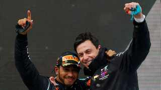 """ambassador of the calibre of Lewis Hamilton"""""""" after the Formula One world champion was awarded a knighthood in the New Year Honours list. Photo: Reuters"""