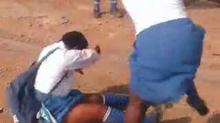 Two pupils at a KwaZulu-Natal school were suspended after a viral video circulated online that showed a female pupil being badly assaulted.