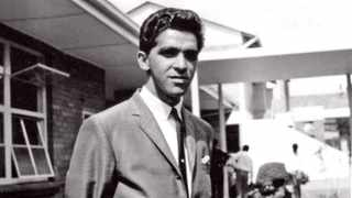 Ahmed Timol was a young schoolteacher in Roodepoort who opposed apartheid. He was arrested at a police roadblock on 22 October 1971, and died five days later. Picture. www.ahmedtimol.co.za