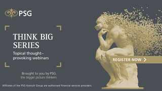 PSG has added to its impressive line-up of bigger picture thinkers, taking part in its 2021 Think Big webinar series.