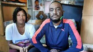 The heartbroken parents of Tazne van Wyk, Carmen van Wyk and Terence Manuel, were told by security guards at Goodwood Magistrate's Court they could not enter. Picture: Solly Lottering