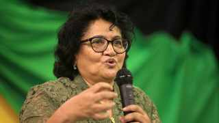 ANC deputy-secretary general, Jessie Duarte, referred to the extremely good relations between the ANC and the Communist Party of China and the support of China in the struggle for struggle against apartheid South Africa. Picture: Nhlanhla Phillips/African News Agency/ANA