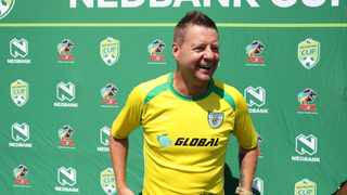 Dylan Kerr and John Maduka may have different targets for the remainder of the Premiership season but they'll both know that being Nedbank Cup finalists could be the fuel that may drive them to the promised land. Picture: Kabelo Leputu/BackpagePix