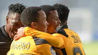 Kaizer Chiefs coach Gavin Hunt is excited with the early signs of a fruitful partnership between Samir Nurkovic, Nkosingiphile Ngcobo and Happy Mashiane after the trio steered the team out of troubled waters within a week. Photo: Ryan Wilkisky/BackpagePix