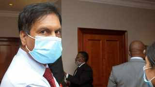 Dr Ganes Anil Ramdhin appeared before an ad hoc committee set up by the Health Council Profession of SA to investigate allegations of contravening Performance of Professional Acts. Picture: Tracey Adams/African News Agency (ANA)