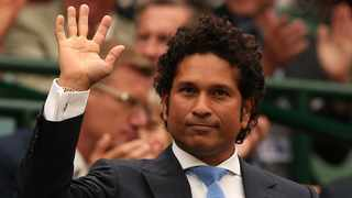 FILE - As a precautionary measure, Indian cricket great Sachin Tendulkar says he's been hospitalised after testing positive for Covid-19. Photo: Andrew Yates