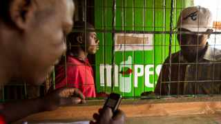 Residents of Naiorbi send Mpesa funds to relatives or family members on April 14, 2012. Trevor Snapp/Bloomberg News