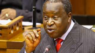 South African finance minister Tito Mboweni. South Africa's Finance Minister Tito Mboweni said on Thursday that the government was still trying to find additional financing for troubled state airline South Africa Airways (SAA). FILE PHOTO