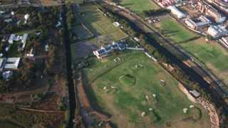 An aerial view of The River Club. File picture: Andrew Ingram