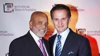 Berry Gordy founder of Motown with Charles Goldstuck. Picture: Supplied