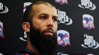 Moeen Ali in the colours of Cape Town Blitz for the MSL T20 campaign. Photo: Ryan Wilkisky/BackpagePix