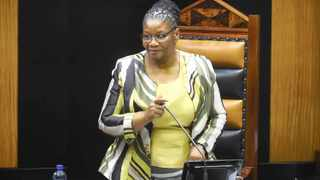 National Assembly Speaker Thandi Modise. Picture: Phando Jikelo/African News Agency (ANA)