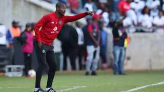 Rhulani Mokwena will hope it is third time lucky in his third match in charge of Orlando Pirates. Photo: Muzi Ntombela/BackpagePix