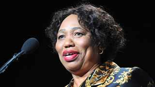 Angie Motshekga, the Minister of Basic Education announces the National Senior Certificate Examination Results (NSC) for the 2020 Top-Achieving learners. Picture: Karen Sandison/African News Agency(ANA)