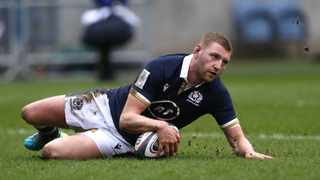 FILE - Scotland's Finn Russell. Photo: Russell Cheyne/Reuters