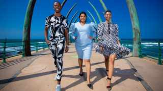 2019 New Face Model winners - Austin Mbuyisa, Anneline Nagan, Thandeka Phakathi. Picture: SDR.