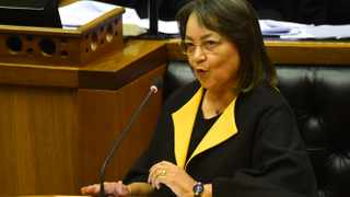 Public Works and Infrastructure Minister Patricia de Lille. Photograph :Phando Jikelo/African News Agency (ANA)
