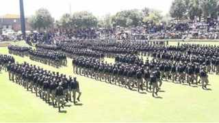 JMPD cadets during a passing out parade in Joburg.| File image.
