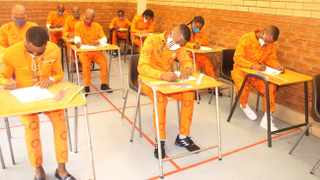 The matric 2020 inmate pass rate has increased to 86.3% for full-time students, Minister Ronald Lamola announced. Filed Photo.