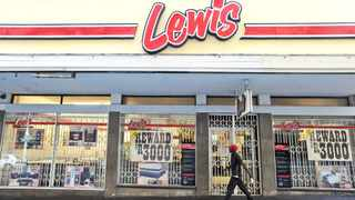 The Lewis Group, a retailer of household furniture and electrical appliances, took a hit in the last quarter of its financial year, with March merchandise sales declining by 24.8percent. Photo: David Ritchie/African News Agency (ANA)