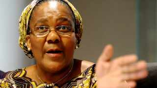 Former minister of transport Dipuo Peters.Picture: Oupa Mokoena/African News Agency (ANA) Archives