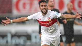 VfB Stuttgart will allow top scorer Nicolas Gonzalez to leave at the right price with a number of Premier League clubs already circling above. Photo: @DExpress_Sport/Twitter