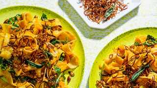 Seed to Skin Squash and Sage Pasta. | Scott Suchman for The Washington Post
