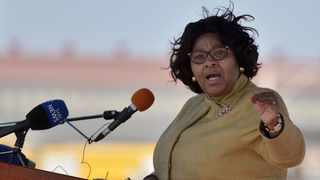 Minister of Defence and Military Veterans Nosiviwe Mapisa-Nqakula File picture: African News Agency (ANA)