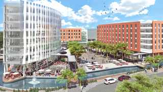 Artist impression of a new mixed-use development, The Square, is to be built at Century City at a cost of R1 billion.