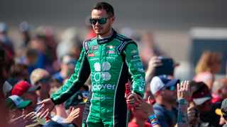 Kyle Larson had been one of the NASCAR series' hottest commodities until he was heard using the slur while apparently testing his microphone for the iRacing competition. PIcture: Mark J. Rebilas/USA TODAY Sports via Reuters