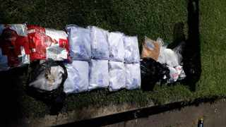 Police seized 22 bags of heroin and crystal meth. Picture: SAPS