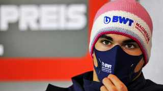 Racing Point driver Lance Stroll of Canada said on social media he was now clear and ready to compete in Portugal this weekend. Picture: xpbimages.com/AP