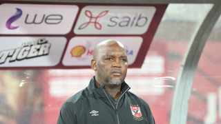 Al Ahly coach Pitso Mosimane on Thursday said he believes his Egyptian side can achieve great heights in the Club World Cup. Photo: Khaled Elfiqi/EPA