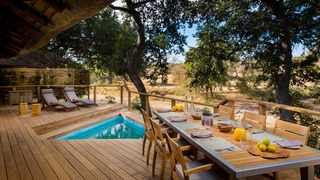 Ulusaba, a private game reserve owned by Sir Richard Branson, is located close to the Kruger National Park. Picture: Supplied.