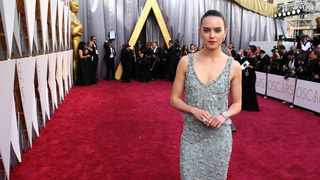 Daisy Ridley arrives at the Oscars on Sunday, Feb. 28, 2016, at the Dolby Theatre in Los Angeles. Picture: Matt Sayles/Invision/AP