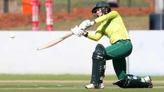 Marizanne Kapp wasn't able to help the Proteas to a win over India. Photo: Samuel Shivambu/BackpagePix