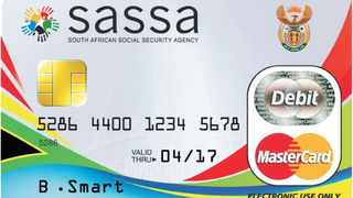 SASSA Card. PHOTO: SASSA website