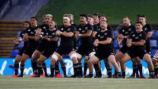 FILE - The All Blacks perform the Haka before the Tri Nations rugby match against Argentina. Photo: Darren Pateman/EPA